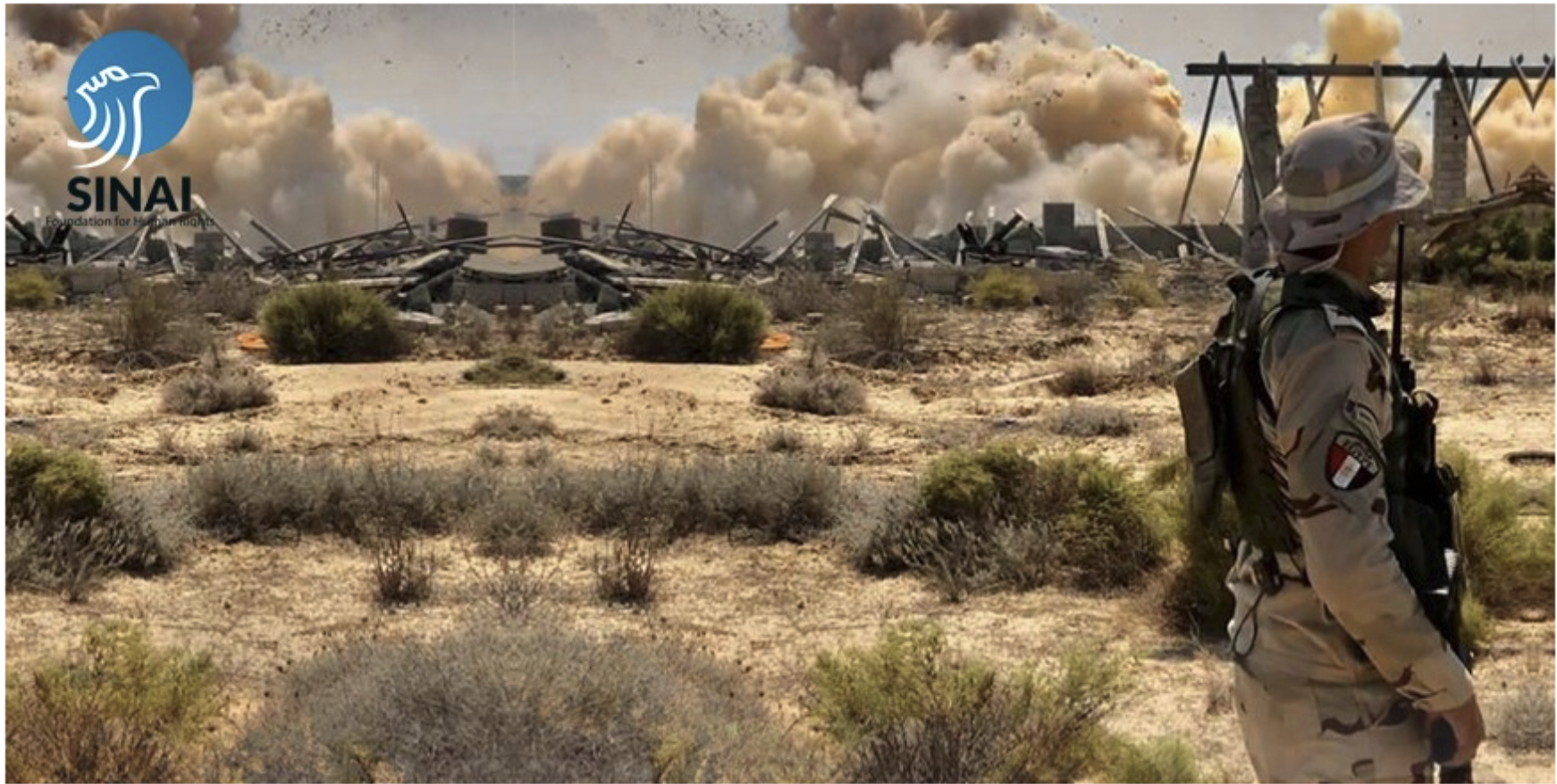 Press Release: The Sinai Foundation for Human Rights reveals in a detailed report the gross violations committed by conflicting parties in Egyptian Sinai